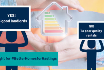 Trustmark launches new pilot in Hastings to raise awareness of energy efficiency in rented accommodation