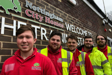 Apprentices are building a brighter future at Nottingham City Homes
