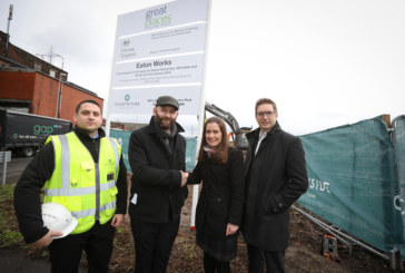 Salford Mayor visits development that will help tackle the city's need for more affordable homes