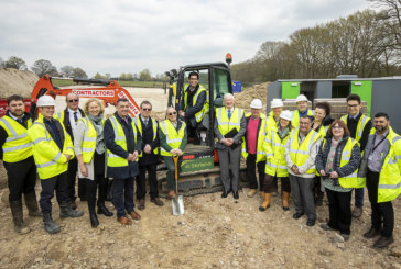 Construction begins for 12 new affordable homes in rural Hampshire