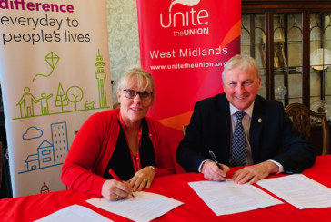 Birmingham and Sandwell councils back Unite's construction charter