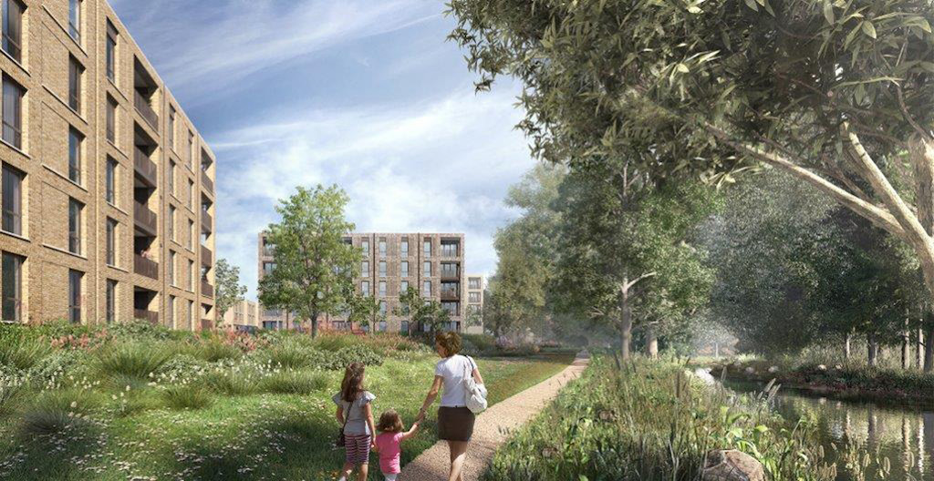 Exterior: Affordable Homes Given Green Light By Oxford City Council