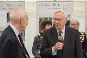 HRH The Duke of Gloucester marks the 150th year since the Harrison Housing Charity was founded