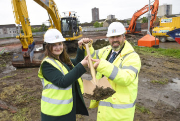 Sod cutting launches new phase of homes at Pennywell Living