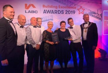 Ashford BC celebrates building excellence award for wheelchair-standard Noakes Meadow scheme
