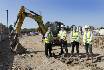 Work starts on 100% affordable housing scheme on Bath Road