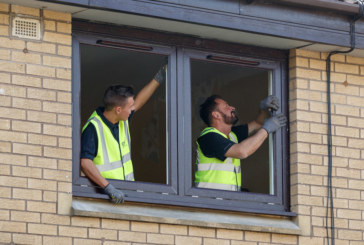 CMS Window Systems gives hundreds of homes in Paisley a bright new outlook