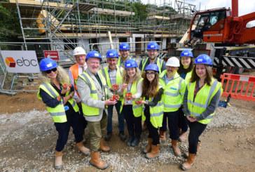 Local housing charity develops homes near Mitchell Fruit Garden