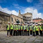Construction careers | Pupils tour Nottingham Castle restoration site