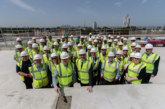 Topping out ceremony marks major milestone reached at Lovell London Trinity Walk in Woolwich