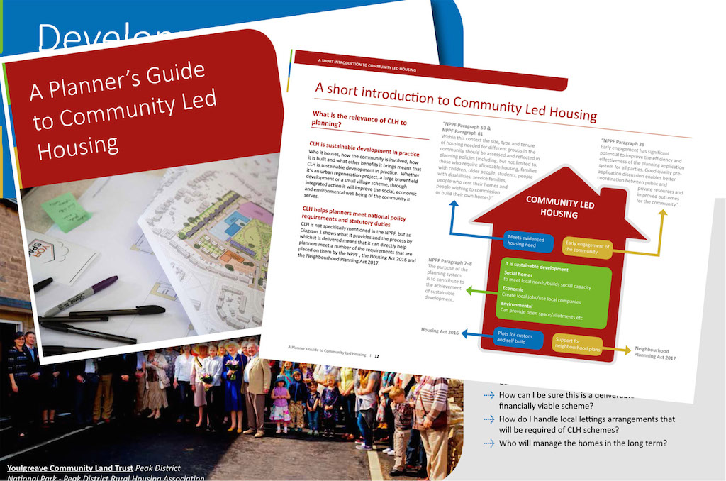 Community led housing guide: a route to better planning for