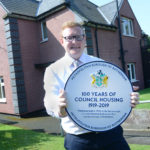 Ceremonial plaque for first council house installed in Rotherham
