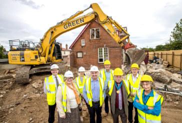 First-of-its-kind regeneration of historic community hospital begins