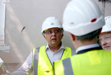Construction tops out for new affordable homes in Wandsworth