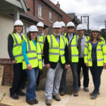 Councillors tour community-led scheme for Rural Housing Week