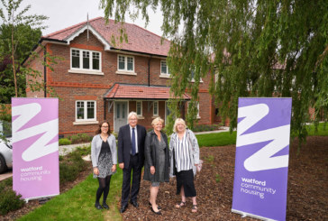 Watford Community Housing unveils affordable homes in Hertsmere