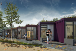 Planning consent secured for new microhomes in Aylesbury