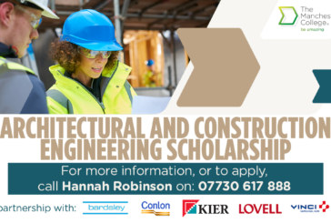 New Architectural and Construction Engineering (ACE) Scholarship launched