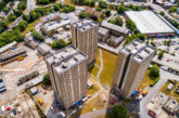 Beech Hill towers demolition complete