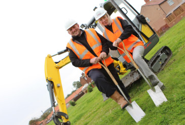 Work starts on 50 affordable homes in Murton 