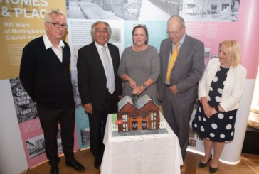 Henry Normal helps celebrate 100 years of council housing