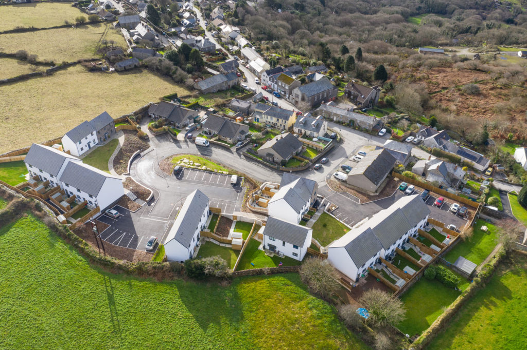 LiveWest new homes in Cornwall