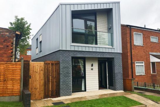 Shelforce plays a part in Birmingham's first modular home