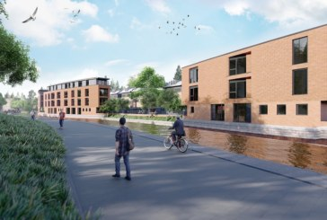 Stepnell paddles downstream with tricky canalside project