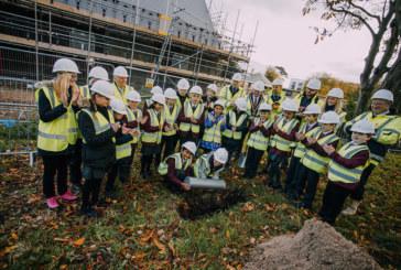 Skegness schoolchildren bury keepsakes in celebration of new £1.6m community building