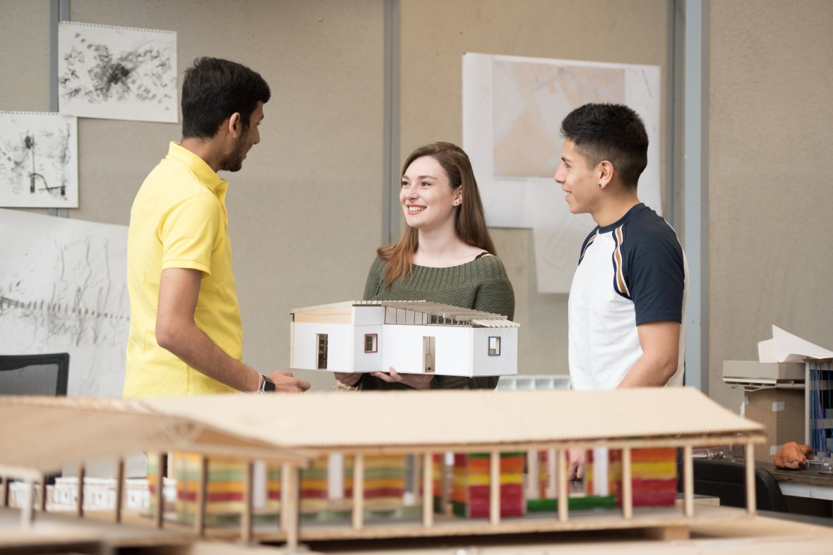 Nottingham students creating the future of social housing