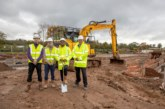 Work on 108 Leicestershire affordable homes is underway