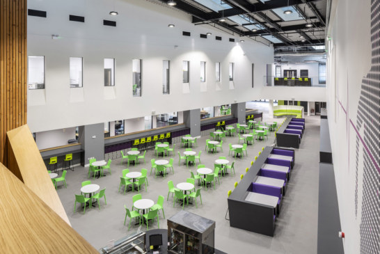 Deanstor completes £1.5m secondary school furniture fit out contract