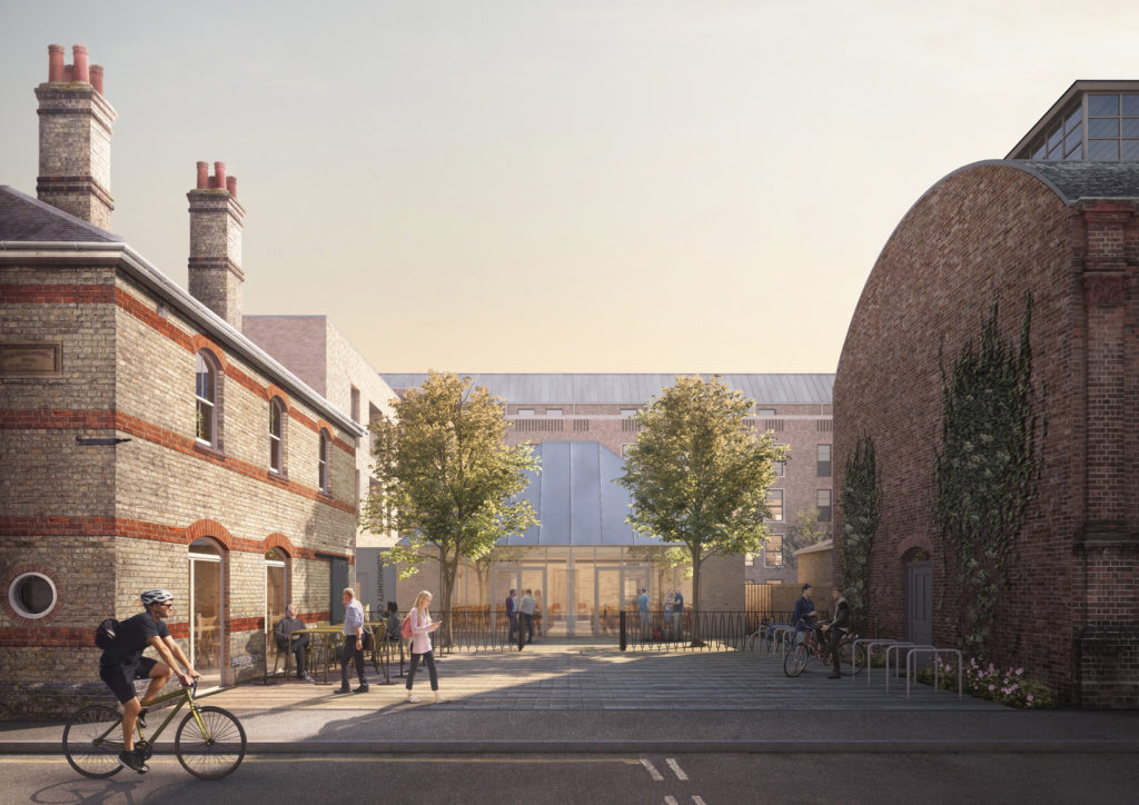 Ironworks, Mill Road Cambridge. A Cambridge Investment Partnership project