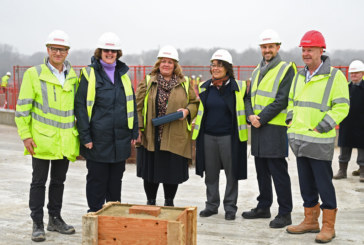 Construction work completes on new school in Erith
