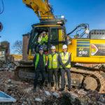 Demolition begins on 200-home Gascoigne West project in Barking