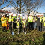 Work has started on a new building at Kidbrooke Park Primary School