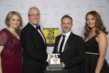 Mears named in Sunday Times Best 25 Big Companies 2020