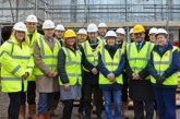Two Rivers and partners tour new affordable housing site