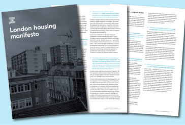 Think tank calls for next London Mayor to tackle supply and affordability of homes