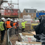 JG Hale Construction welcomes school pupils to its Radyr building site