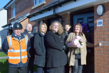 Partnership working homes 11 new families in North Lanarkshire