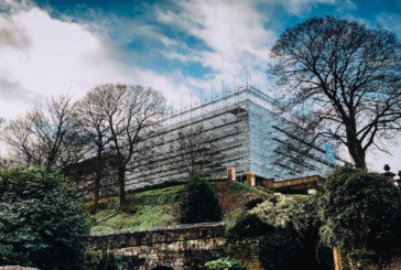 Major milestone for Nottingham Castle renovation as 15km of scaffolding is removed