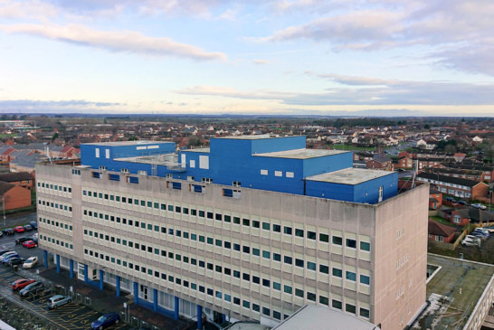 Sika repair systems plays vital role in hospital refurbishment