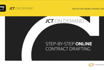 Full range of JCT 2016 Contracts now available digitally