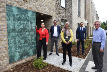 Eye-catching public art unveiled at Anstey Way, Cambridge