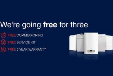 Potterton Commercial launches Free For Three offer
