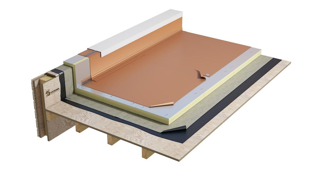 Soprema | Alternatives to copper for new-build and refurbishment