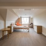 Altro Wood adhesive-free flooring specified for nursing home