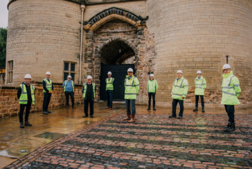 Major construction works completed at Nottingham Castle