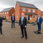 Richard Fuller MP opens GUHG's new housing scheme in Oakley